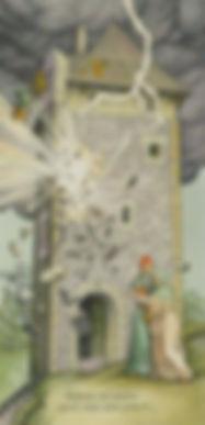 Старший Аркан Башня, гадания на Таро