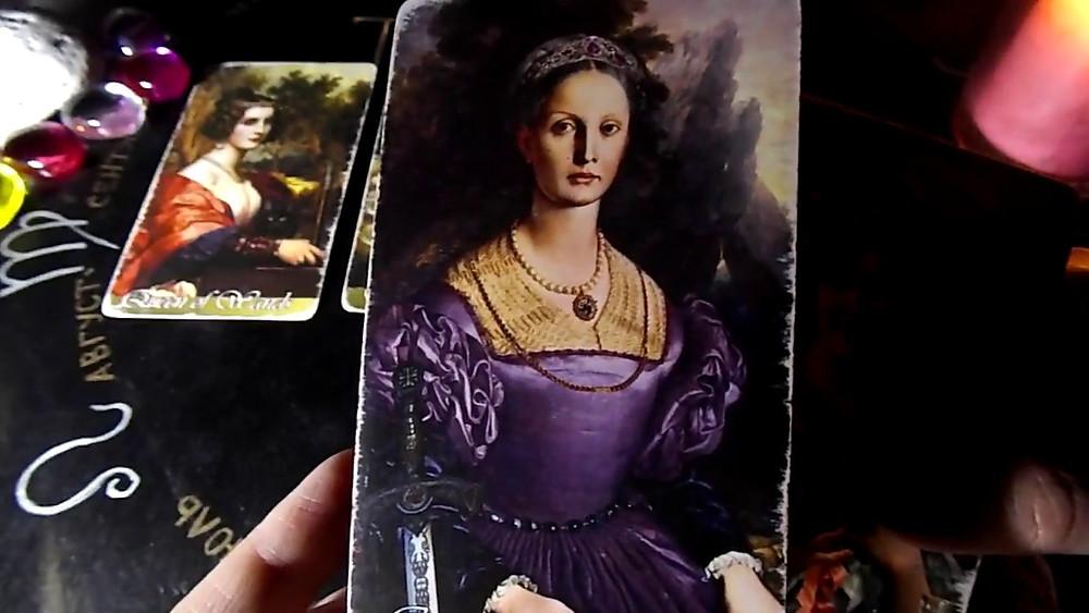 карты таро королевы
