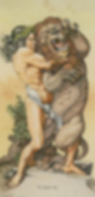 Старший Аркан Сила, гадание на Таро