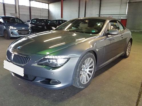 BMW 630i Cabriolet 272ch boite méca