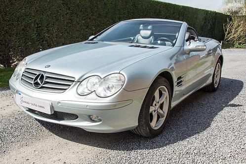 Mercedes SL (environ 15k€)