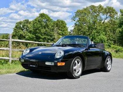 65 000€ - Porsche 993 Cabriolet