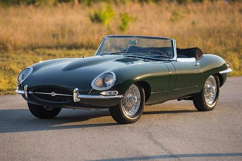 120 000€ - Jaguar type e Roadster