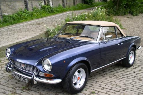 15 000€ - Fiat 124 Spider