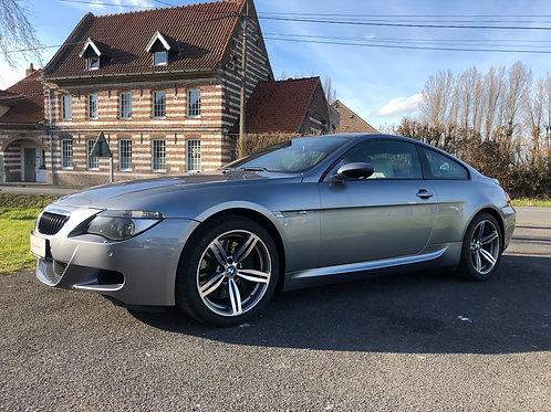 26 000€ - BMW M6 V10 507ch - video Youtube dispo