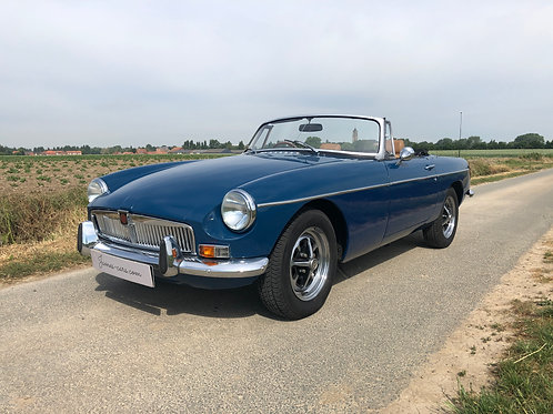 MG B Roadster 1973 (video Youtube disponible)