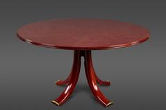 AN EXQUISITE AND RARE ROUND OSVALDO BORSANI TABLE