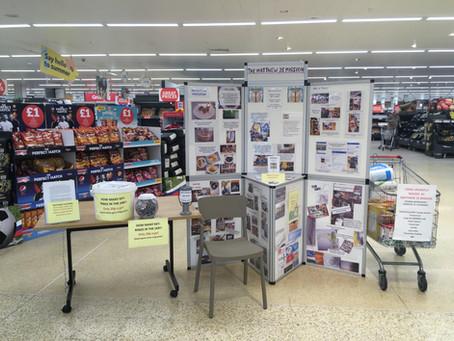 See us at Sainsbury's