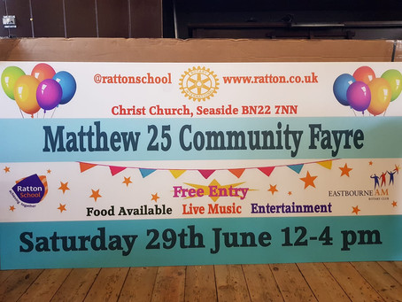 Visit our Community Fayre this Saturday