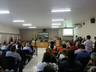Secretário executivo da ACICC participou de uma reunião na câmara de vereadores de Tramandaí