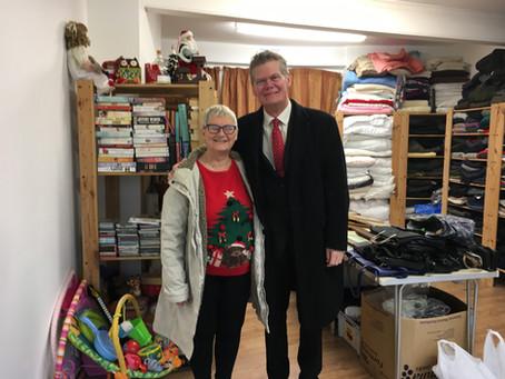 M25M Charity shop open
