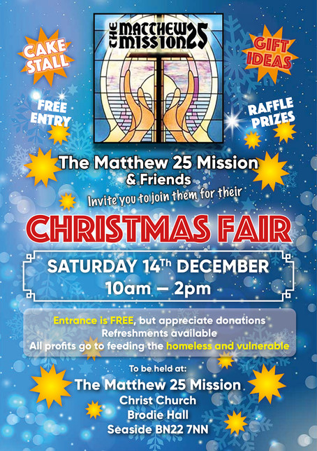 Christmas Fair coming up