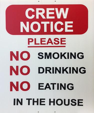 Crew Notice
