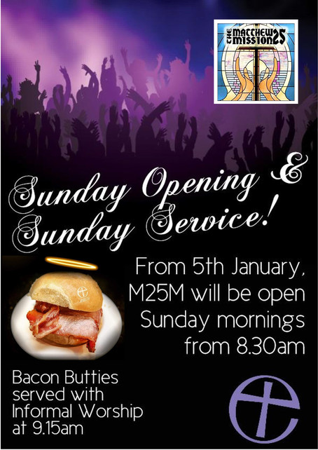 Sunday Opening & Service