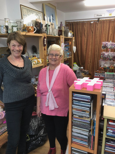Bits 'n' Pieces a charity shop with a difference