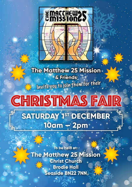 Matthew 25 Christmas Fair
