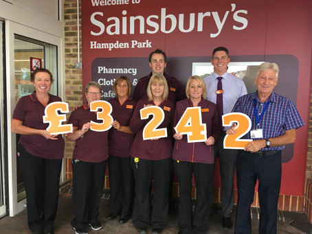 BIG numbers from Sainsbury's !