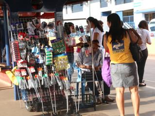 Solicitação a administração municipal um posicionamento em relação ao comércio informal