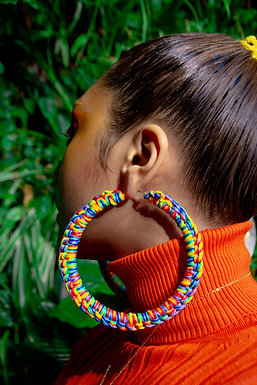 Go Big or Go Home Crochet Earrings