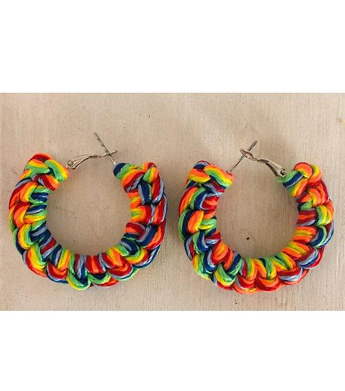 Itty Bitty (Go Big or Go Home) Crochet Earrings