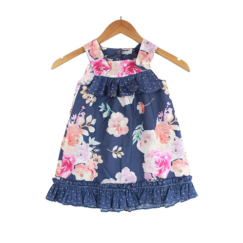 Baby Florentina Ruffle Floral Dress