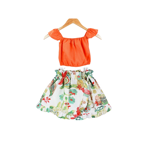 Baby Catalia Top and Skirt Set
