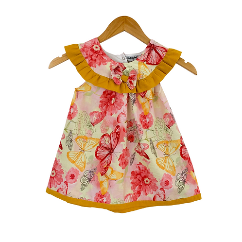Baby Giovaninna Butterfly Print Dress