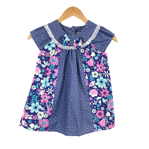 Baby Aitana Dots & Floral print