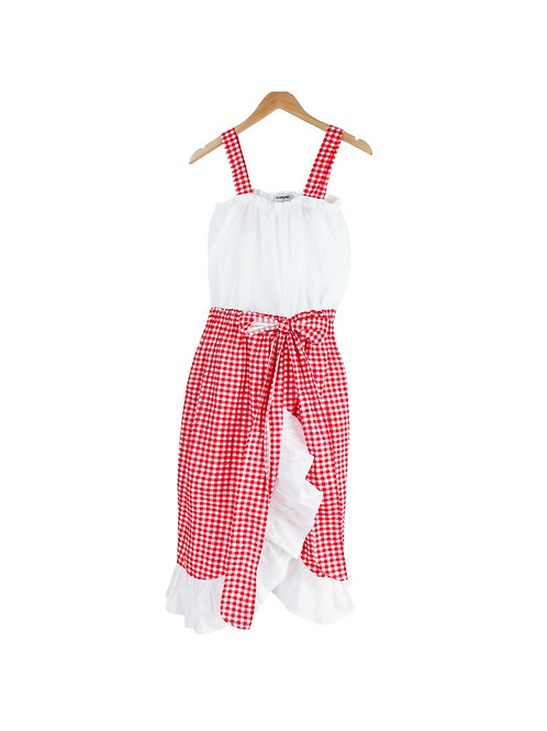 Mommy Campanella Gingham Dress