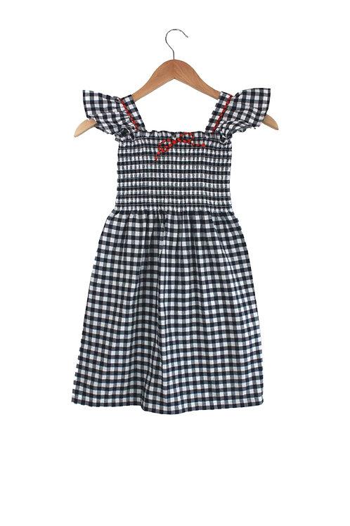 Baby Silvina Ginham Maxi Dress