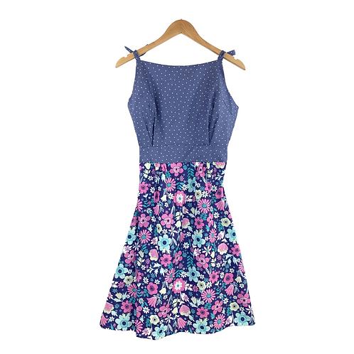 Mommy Aitana Dots & Floral print