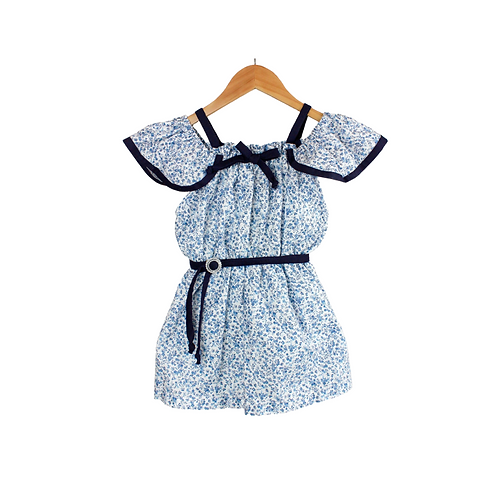 Baby Soovle Floral blue Summer Dress