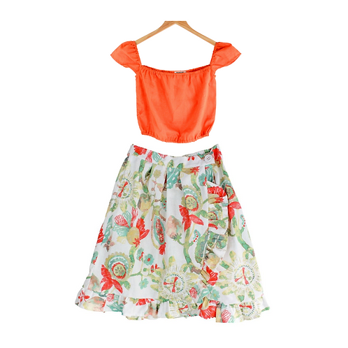Mommy Catalia Top and Skirt Set