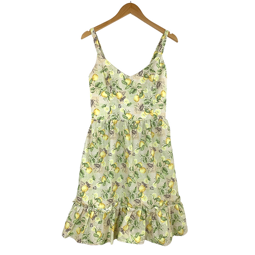 Mommy Idarella Lime Print Dress