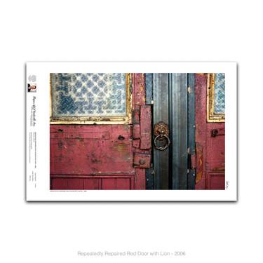 11-011 Repeatedly Repaird Red Door.jpg