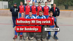 Mit Sieg zurück in der Bundesliga