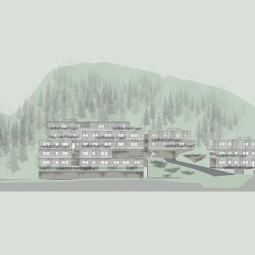 Kirchwald Siedlung