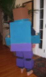 handmade halloween costume minecraft