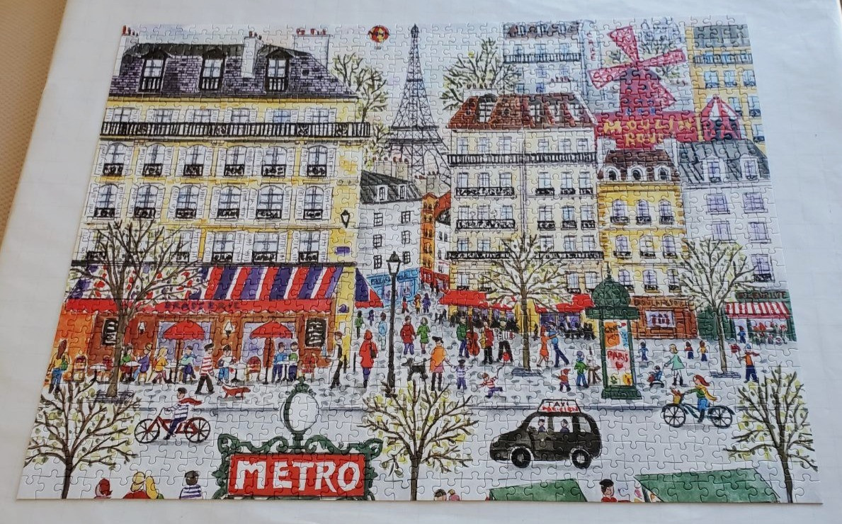 Paris by Michael Storrings from Galison