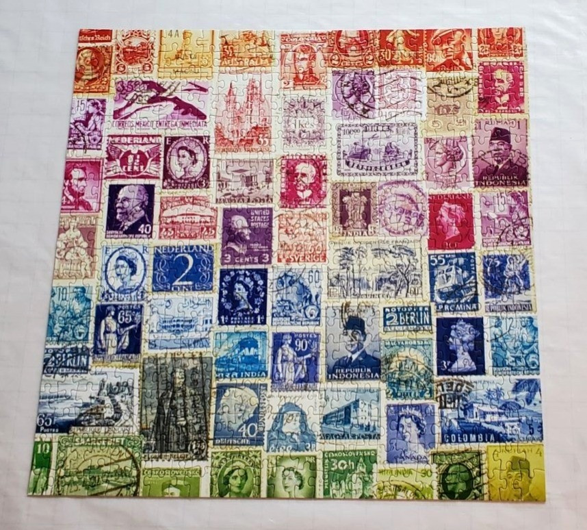 Vintage Stamps by Galison