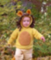 handmade halloween costume lion