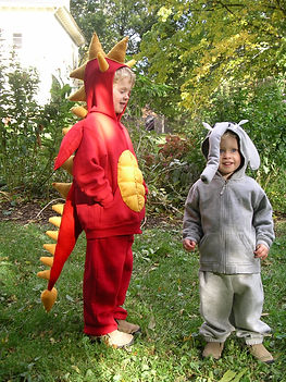 handmade halloween costume elephant