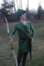 handmade costume robin hood