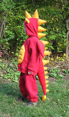 handmade halloween costume dragon