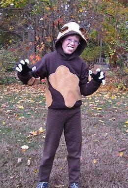 handmade halloween costume wolverine