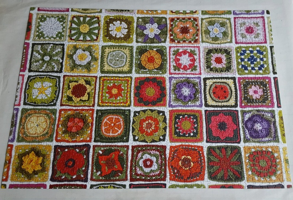 Granny Squares from Cobble Hill