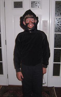 handmade halloween costume spider monkey