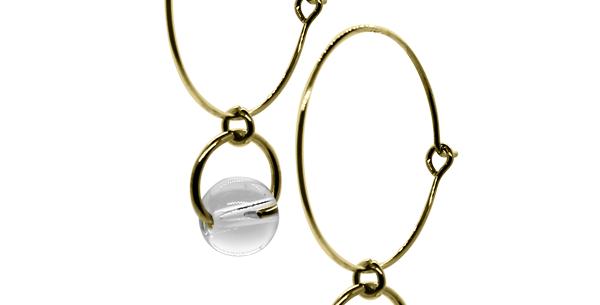BASICS - Hoops gold