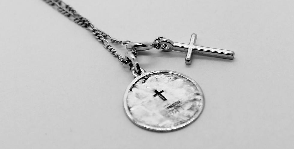 Pendant, Münze & Cross - Memories