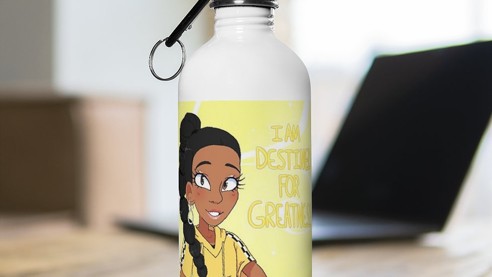 I AM DESTINED Stainless Steel Water Bottle